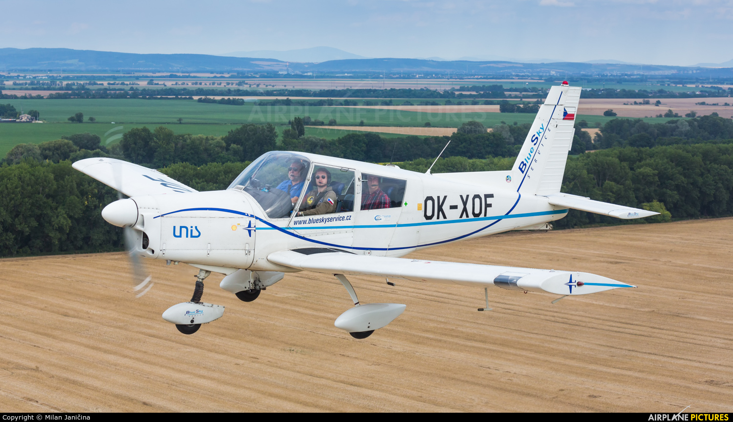 Blue Sky Service OK-XOF aircraft at In Flight - Slovakia