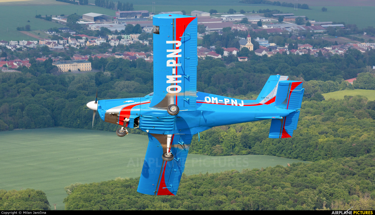 Private OM-PNJ aircraft at In Flight - Slovakia