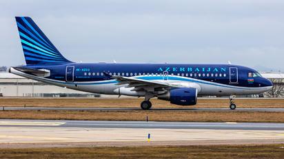 4K-AZ03 - Azerbaijan Airlines Airbus A319