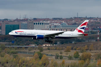 G-YMMO - British Airways Boeing 777-200