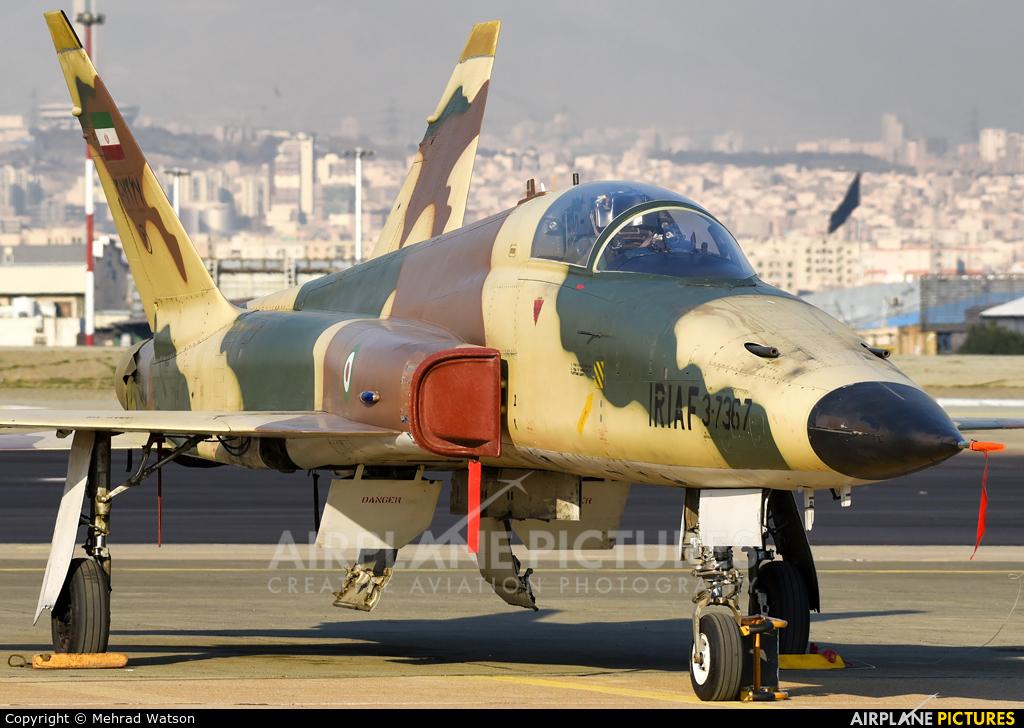 Iran - Islamic Republic Air Force 3-7367 aircraft at Tehran - Mehrabad Intl