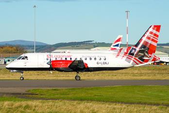 G-LGNJ - Loganair SAAB 340