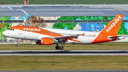 HB-JZY - easyJet Switzerland Airbus A320