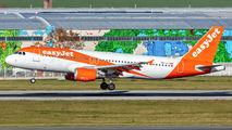 HB-JZY - easyJet Switzerland Airbus A320 aircraft