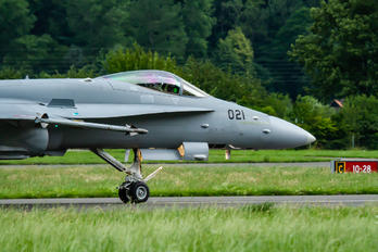 J-5021 - Switzerland - Air Force McDonnell Douglas F/A-18C Hornet