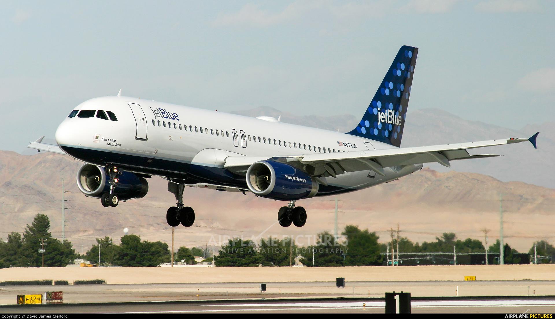 JetBlue Airways N579JB aircraft at Las Vegas - McCarran Intl