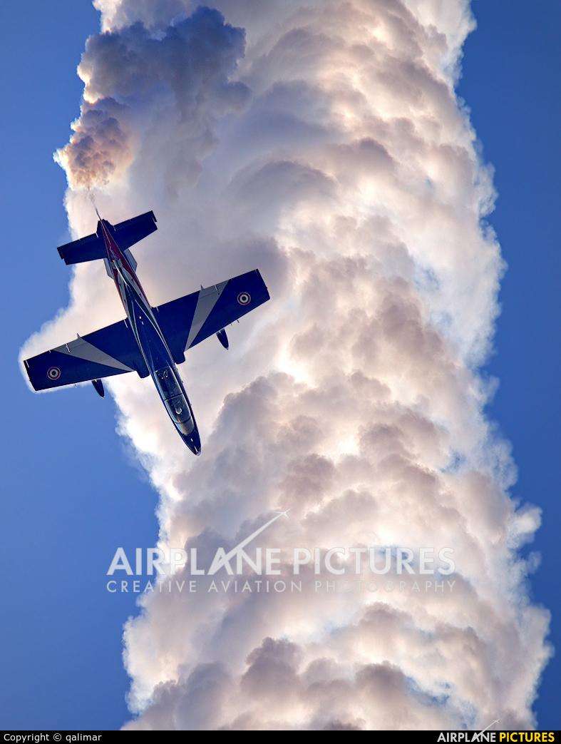 """Italy - Air Force """"Frecce Tricolori"""" MM54510 aircraft at Reggio di Calabria"""