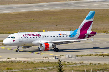 D-ABGO - Eurowings Airbus A319