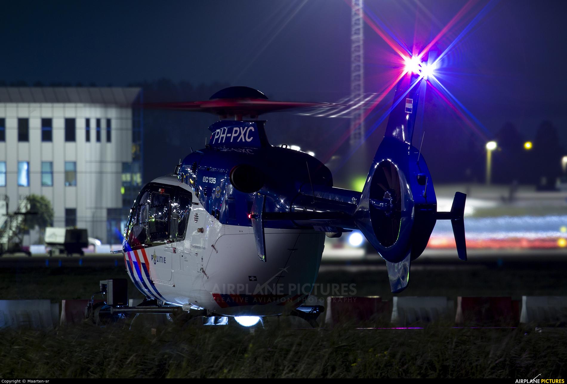 Netherlands - Police PH-PXC aircraft at Rotterdam