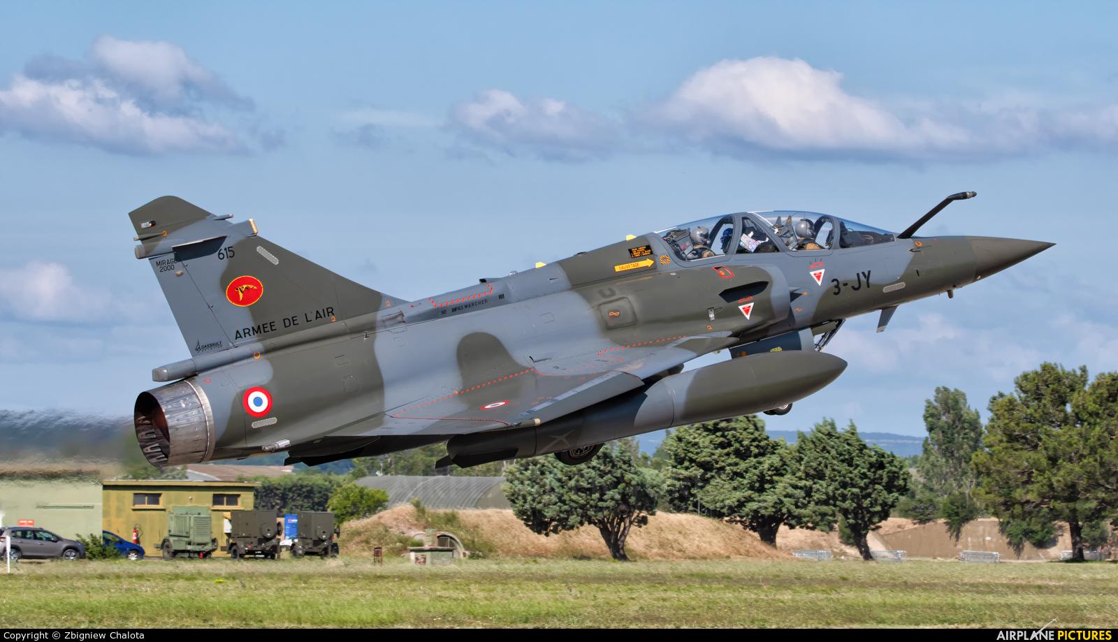 France - Air Force 3-JY aircraft at Orange - Caritat