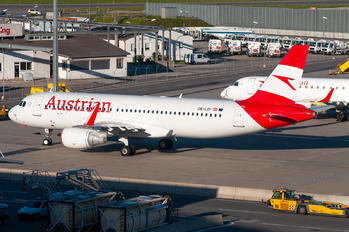 OE-LZF - Austrian Airlines/Arrows/Tyrolean Airbus A320