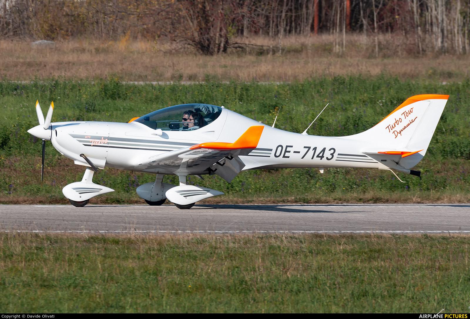 Private OE-7143 aircraft at Verona - Boscomantico