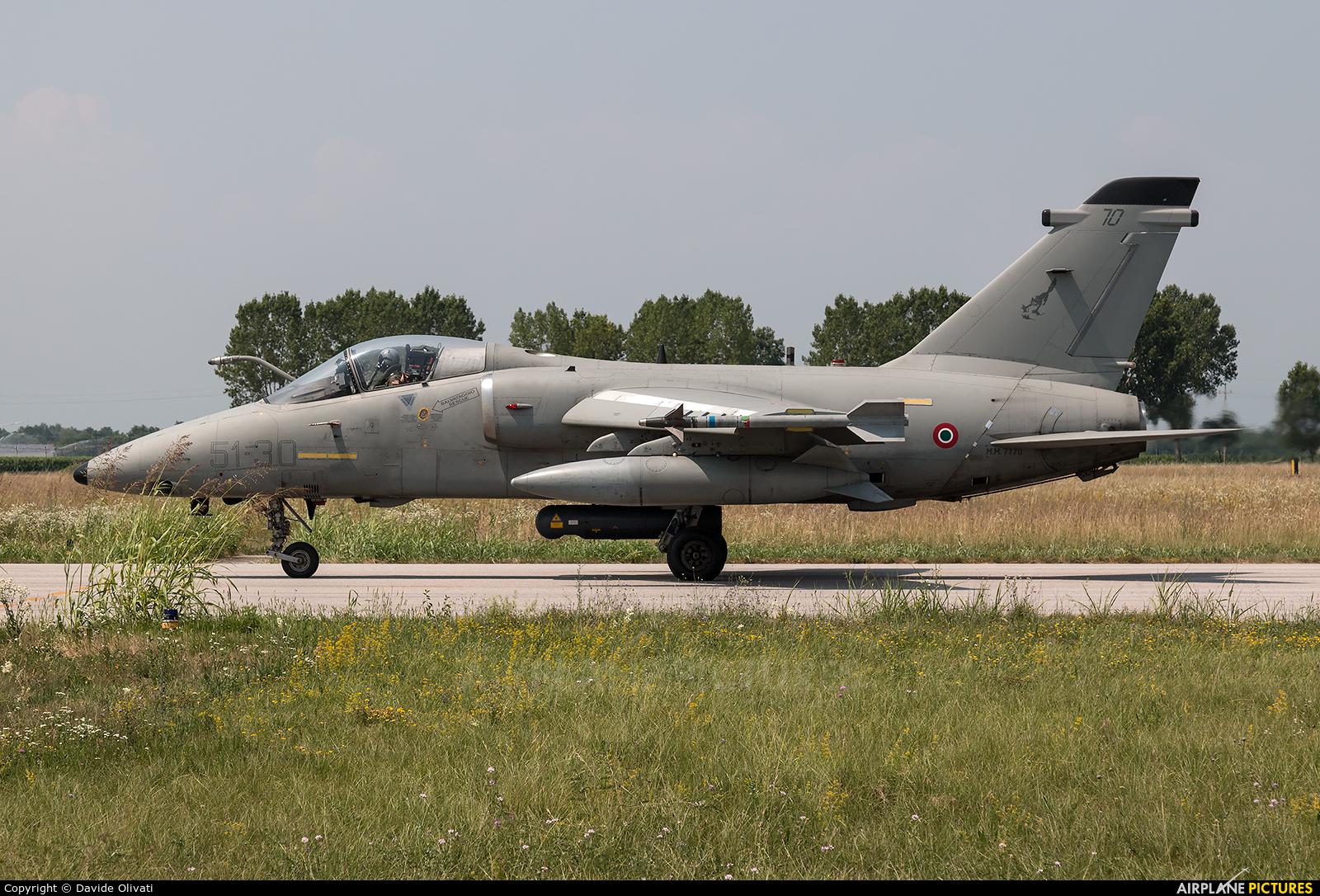 Italy - Air Force MM7170 aircraft at Rivolto