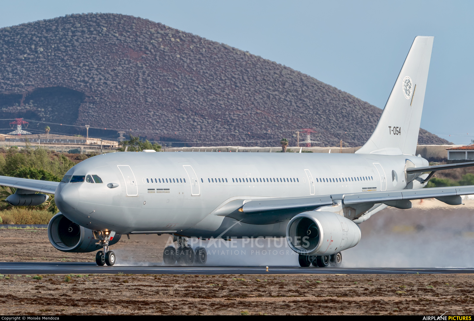 Netherlands - Air Force T-054 aircraft at Tenerife Sur - Reina Sofia