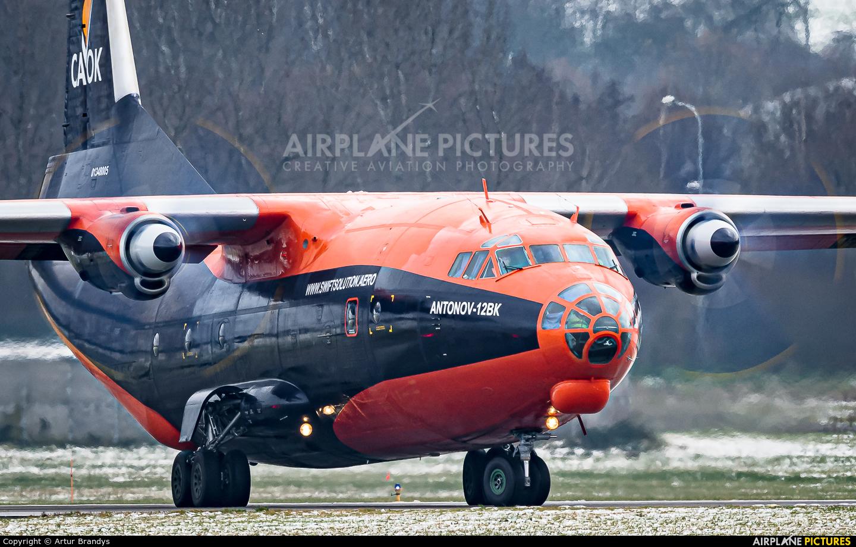 Cavok Air UR-CKL aircraft at Kraków - John Paul II Intl
