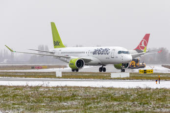 YL-AAO - Air Baltic Airbus A220-300