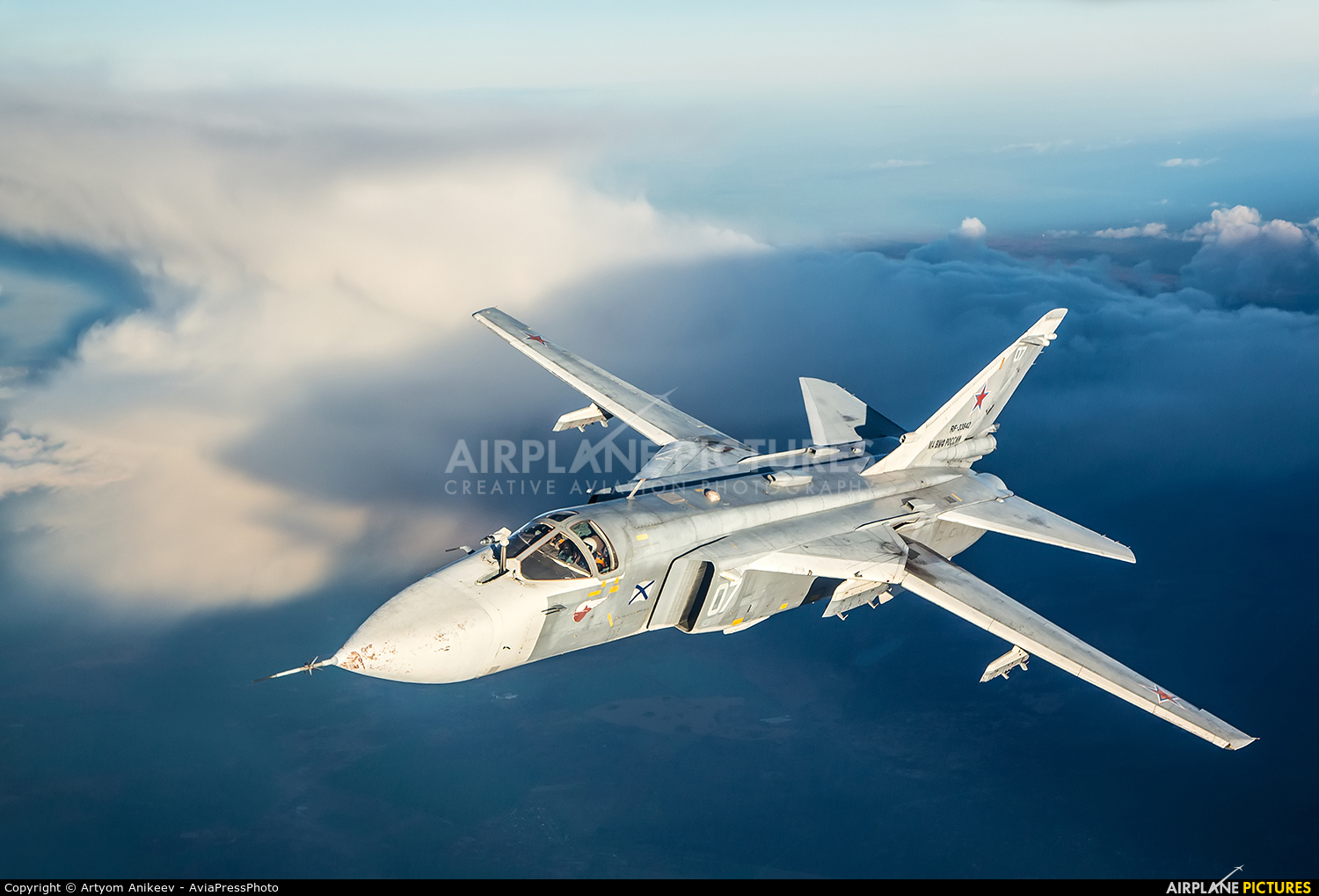 Russia - Navy RF-33842 aircraft at In Flight - Russia