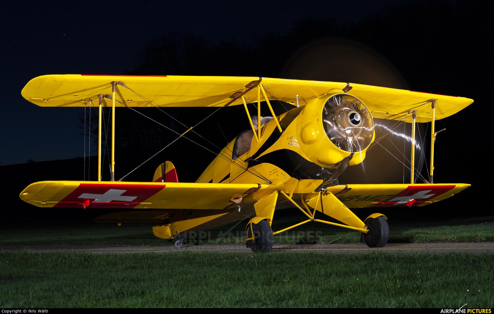 Private HB-MIZ aircraft at Bleienbach Langenthal