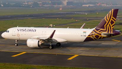 VT-TNW - Vistara Airbus A320 NEO