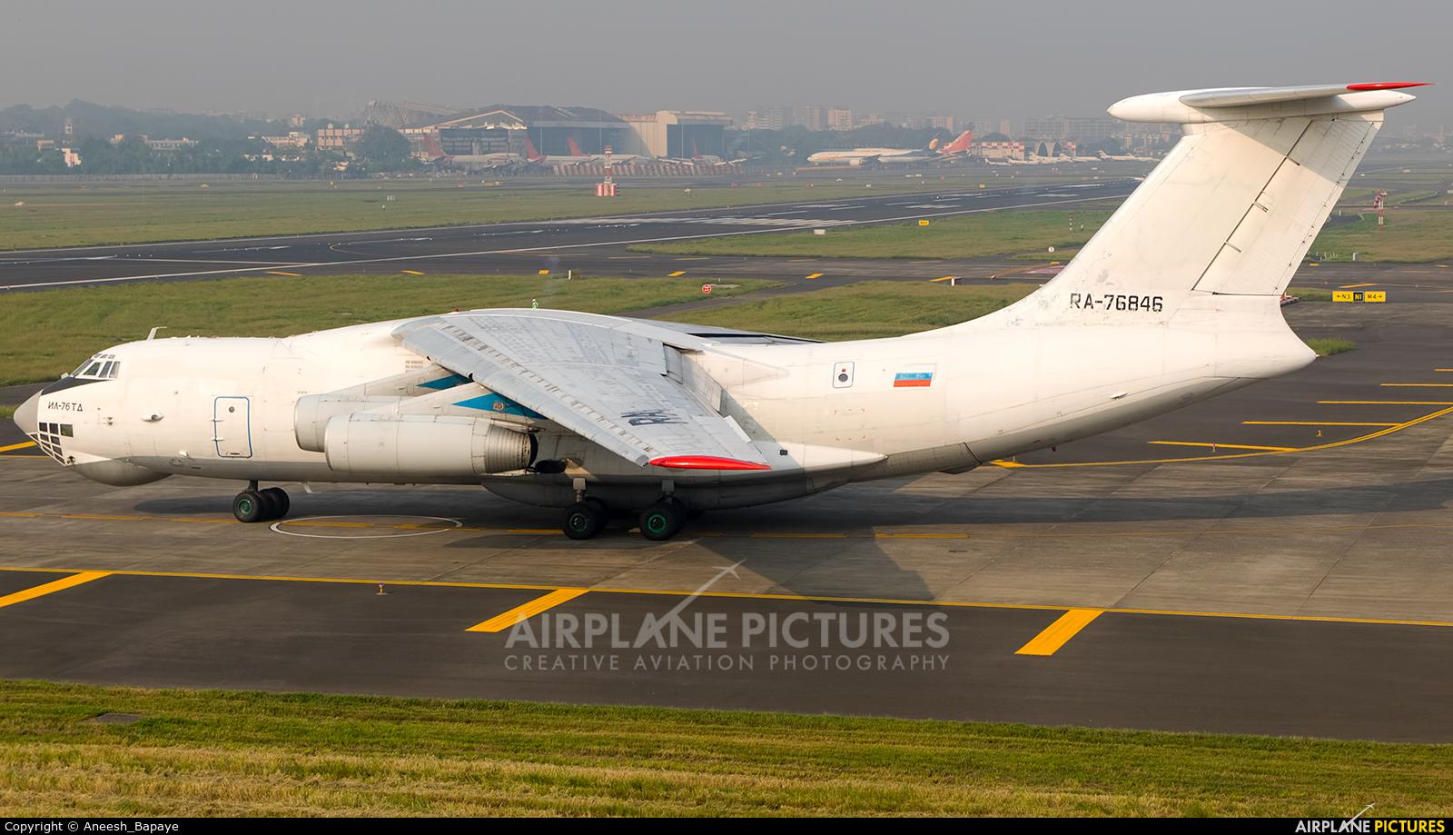 Aviacon Zitotrans RA-76846 aircraft at Mumbai - Chhatrapati Shivaji Intl
