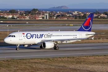 TC-SGN - Onur Air Airbus A320