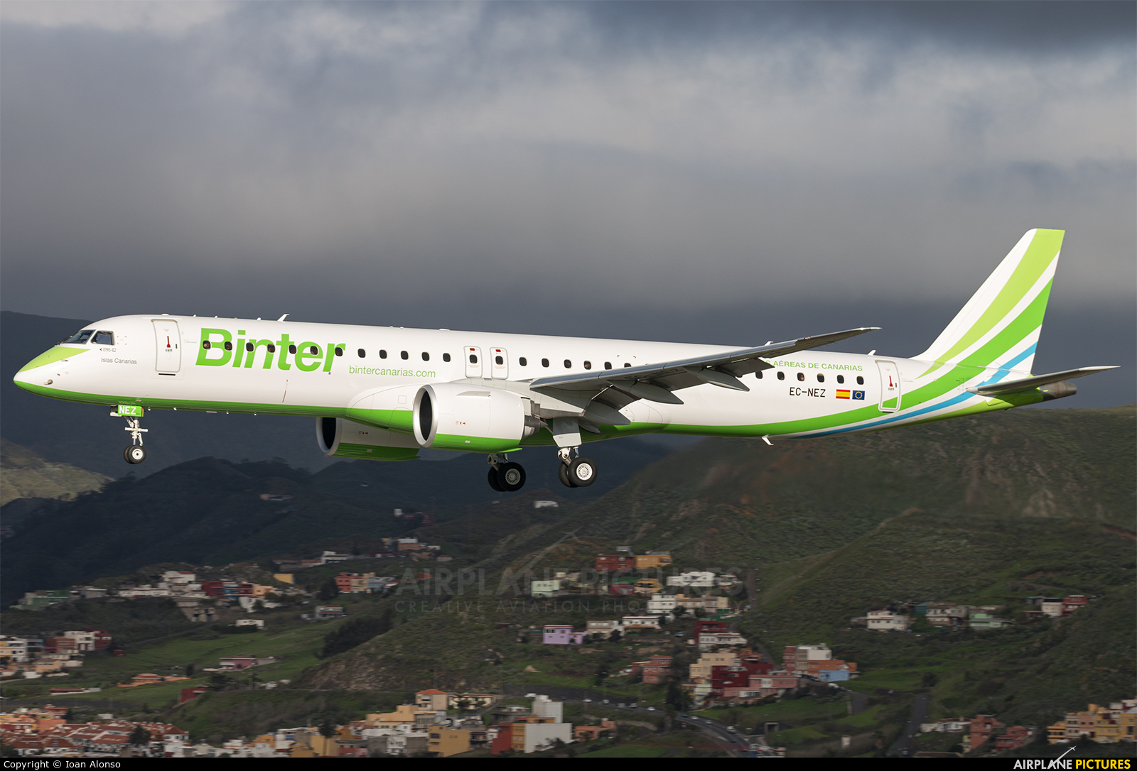 Binter Canarias EC-NEZ aircraft at Tenerife Norte - Los Rodeos