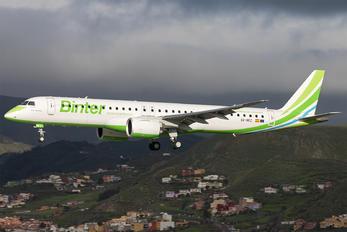 EC-NEZ - Binter Canarias Embraer ERJ-195-E2