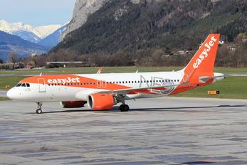 G-UZHA - easyJet Airbus A320 NEO
