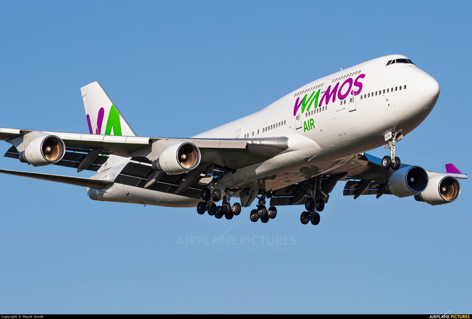 Wamos Air EC-KXN aircraft at Prague - Václav Havel