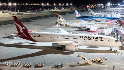 VH-ZNK - QANTAS Boeing 787-9 Dreamliner