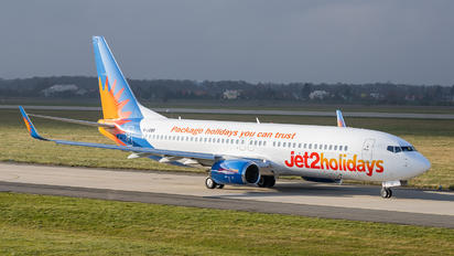 G-JZBD - Jet2 Holidays Boeing 737-800