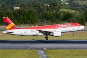 N345AV - Avianca Airbus A320