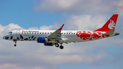 VP-BRU - Buta Airways Embraer ERJ-190 (190-100)