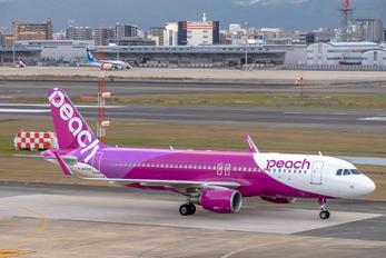 JA04VA - Peach Aviation Airbus A320