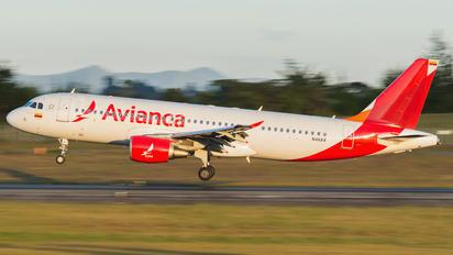 N411AV - Avianca Airbus A320
