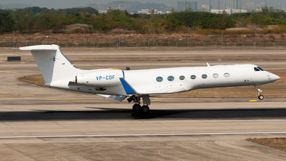 VP-CDF - Private Bombardier BD-700 Global Express
