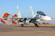 55 - Russia - Air Force Sukhoi Su-30SM aircraft