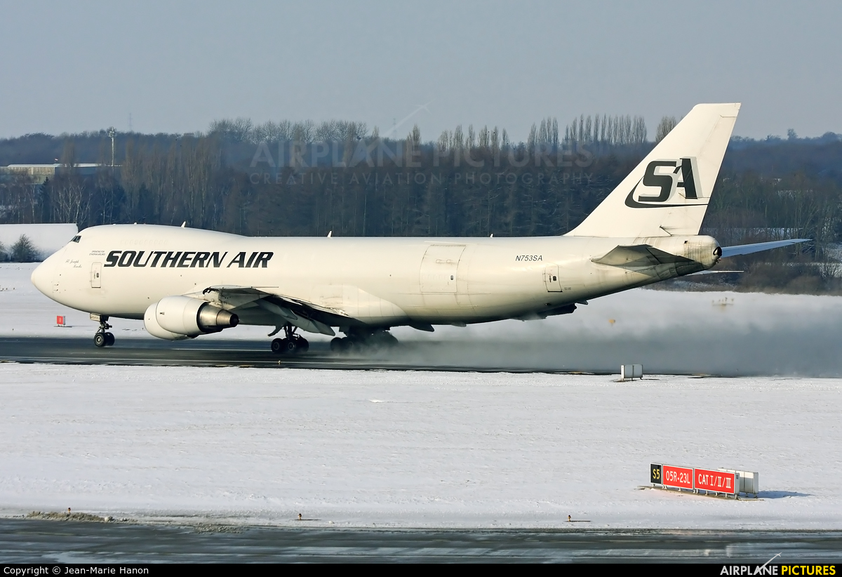 Southern Air Transport N753SA aircraft at Liège-Bierset