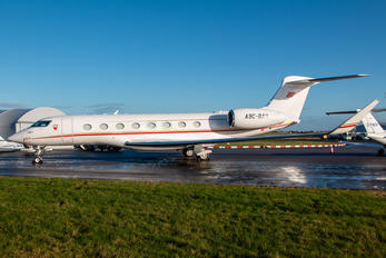 A9C-BAH - Bahrain Amiri Flight Gulfstream Aerospace G650, G650ER