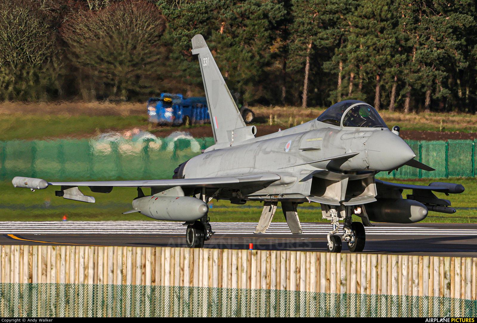 Royal Air Force ZK331 aircraft at Lossiemouth