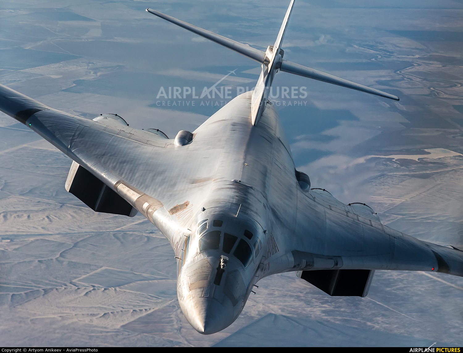 Russia - Air Force RF-94114 aircraft at In Flight - Russia