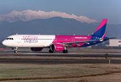 HA-LVO - Wizz Air Airbus A321 NEO aircraft
