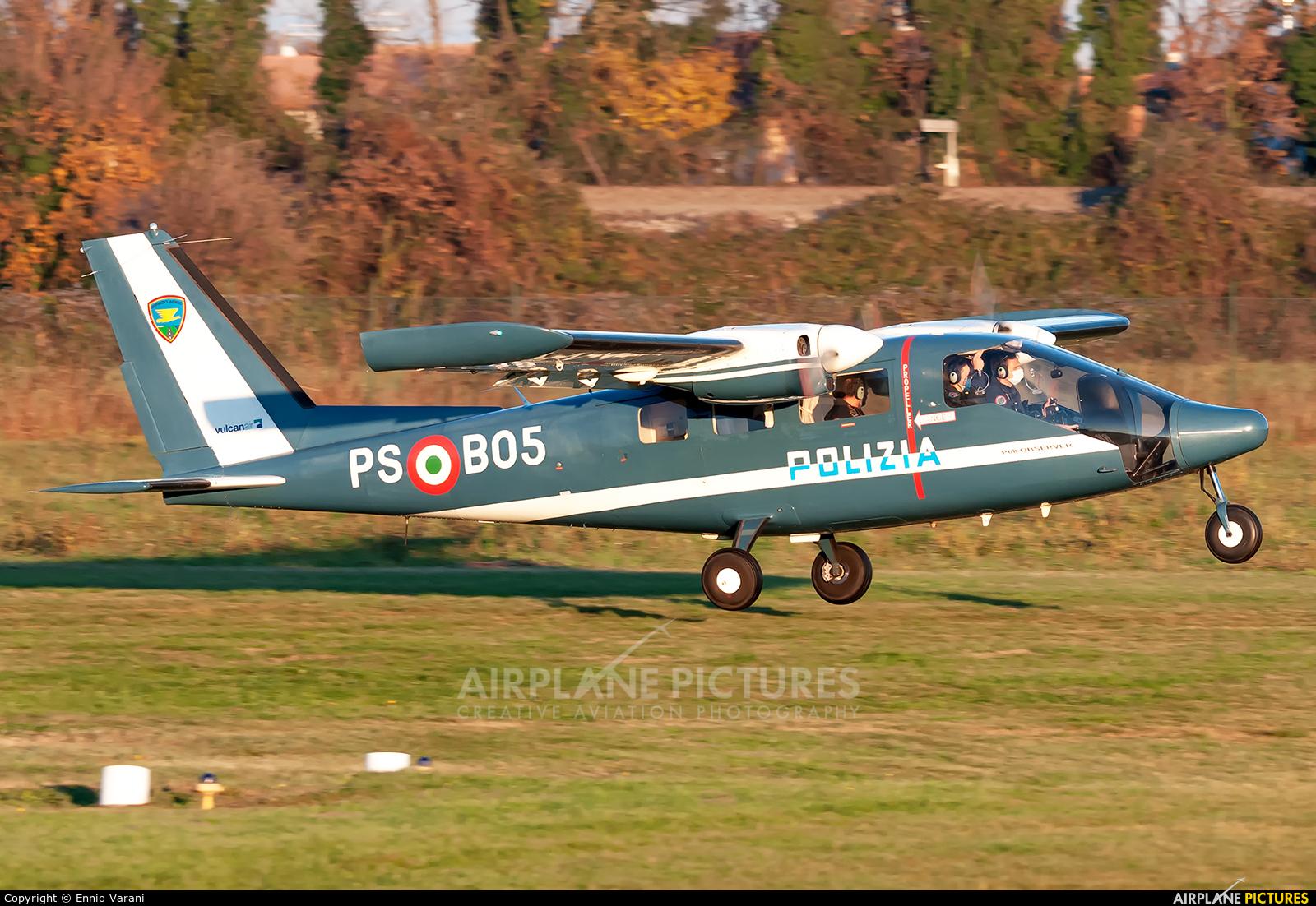 Italy - Police PS-B05 aircraft at Thiene - Arturo Ferrarin