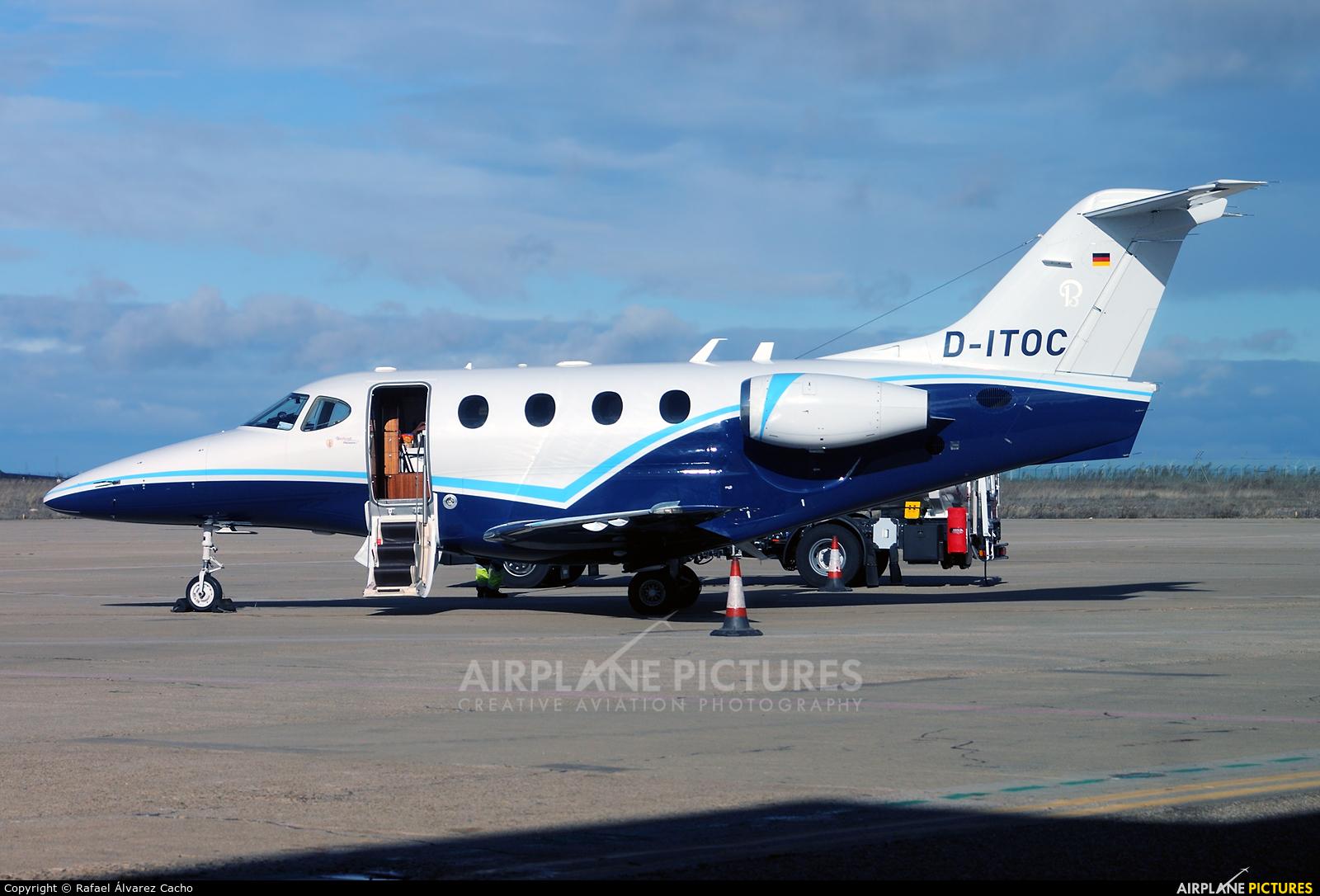 Exxaero D-ITOC aircraft at Valladolid - Villanubla