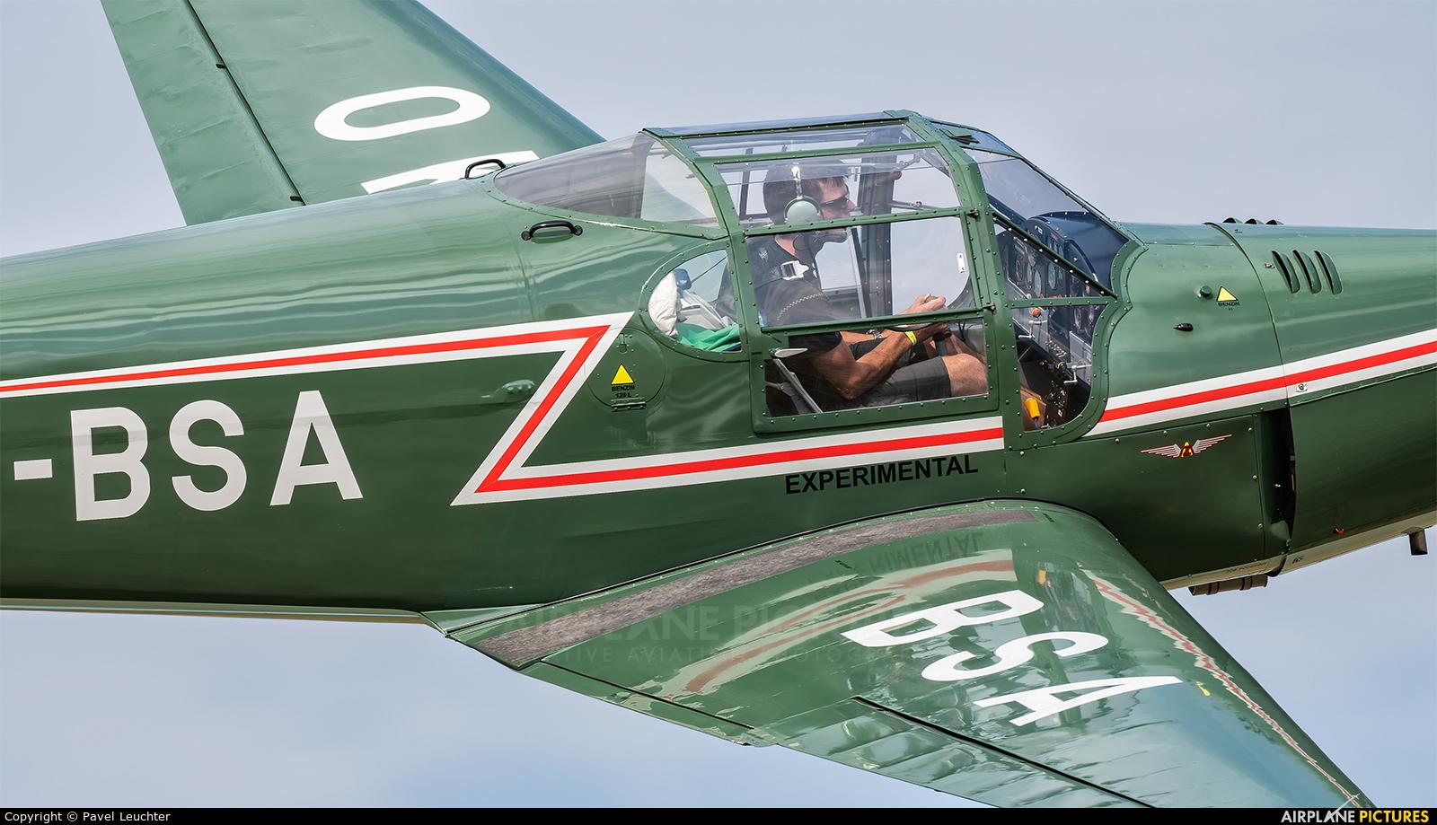 Private OK-BSA aircraft at Uherské Hradiště - Kunovice