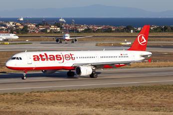 TC-ATF - Atlasjet Airbus A321