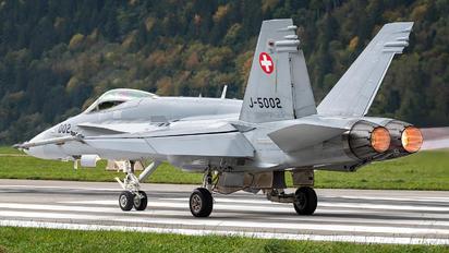 J-5002 - Switzerland - Air Force McDonnell Douglas F/A-18C Hornet