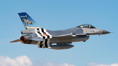 FA-124 - Belgium - Air Force General Dynamics F-16A Fighting Falcon
