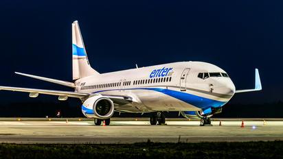 SP-ESF - Enter Air Boeing 737-8AS