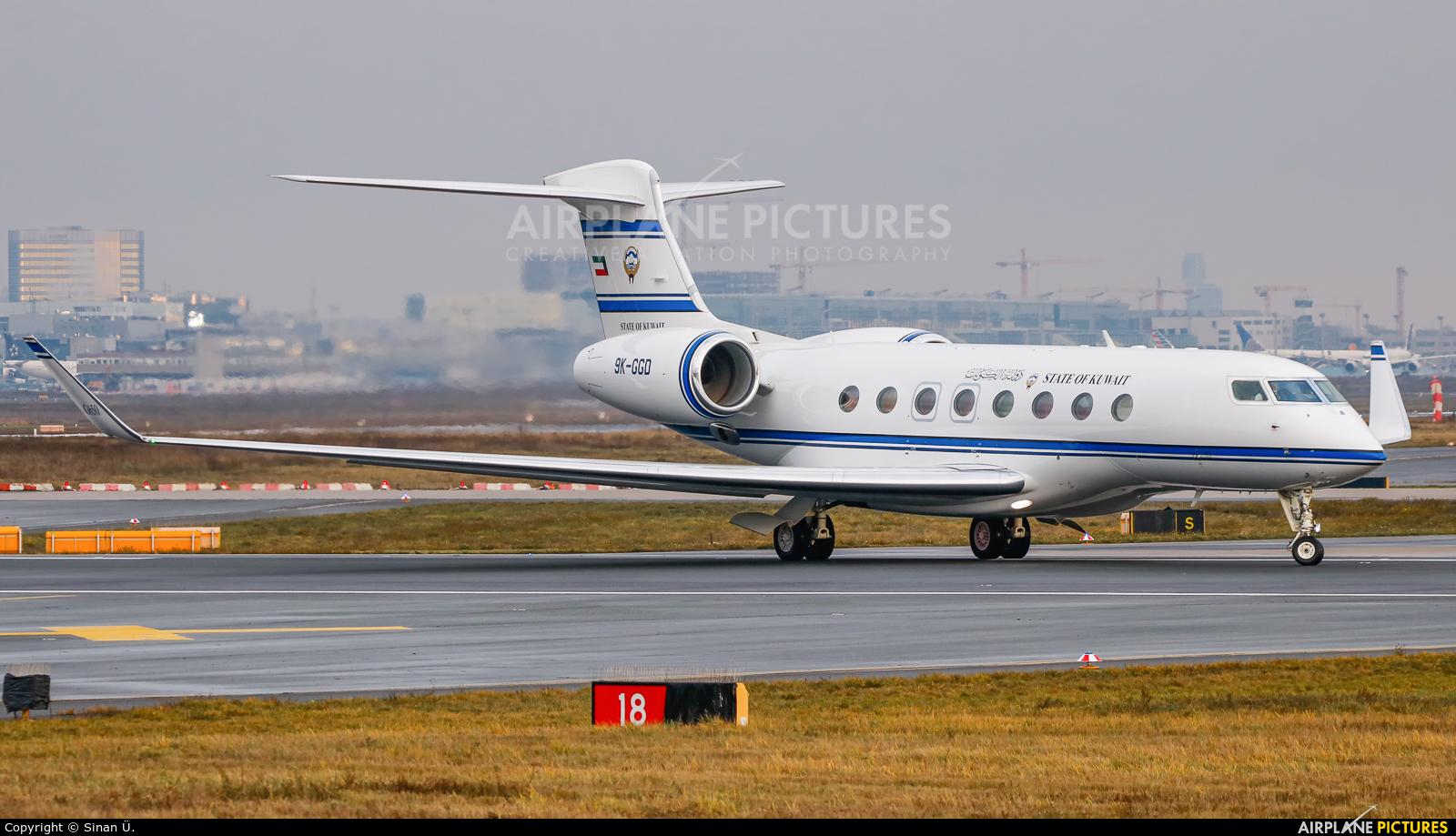 Kuwait - Government 9K-GGD aircraft at Frankfurt